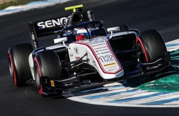 Testy F2 v Jerezu dopadly pro Sauber Junior Team by Charouz úspěšně