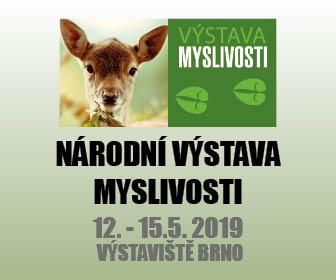 Národní výstava myslivosti 2019 v Brně