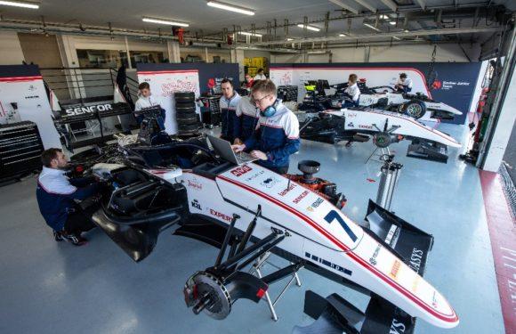 Sauber Junior Team má za sebou první oficiální testy F3 ve Francii