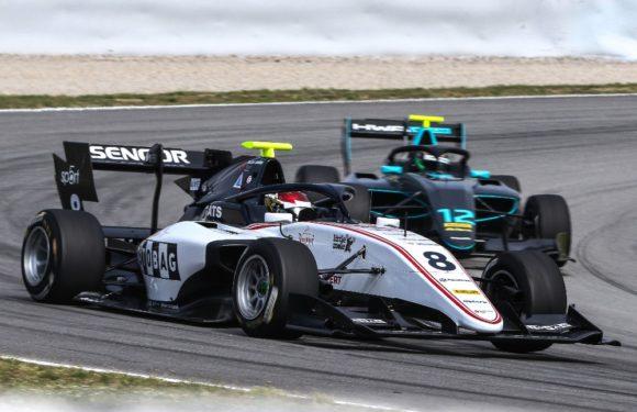 F3 v Barceloně: Sauber Junior Team by Charouz získal cenné zkušenosti