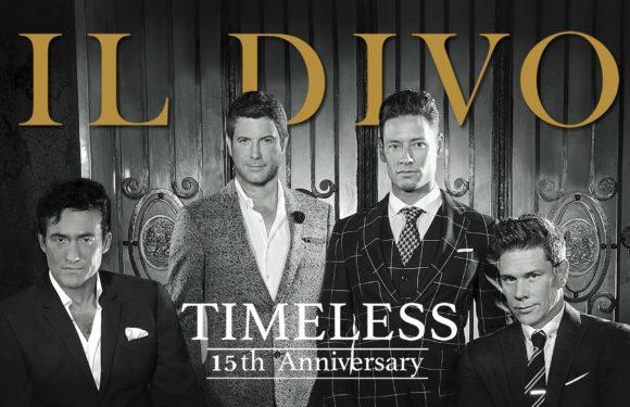 Il Divo oslaví své 15. výročí i v Praze a přiveze show Timeless 15th Anniversary