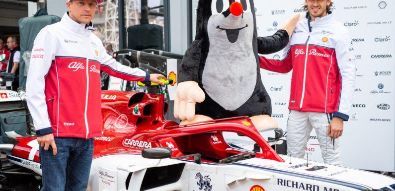 Český Krteček vstupuje do Formule 1! Spojil se s Alfa Romeo Racing