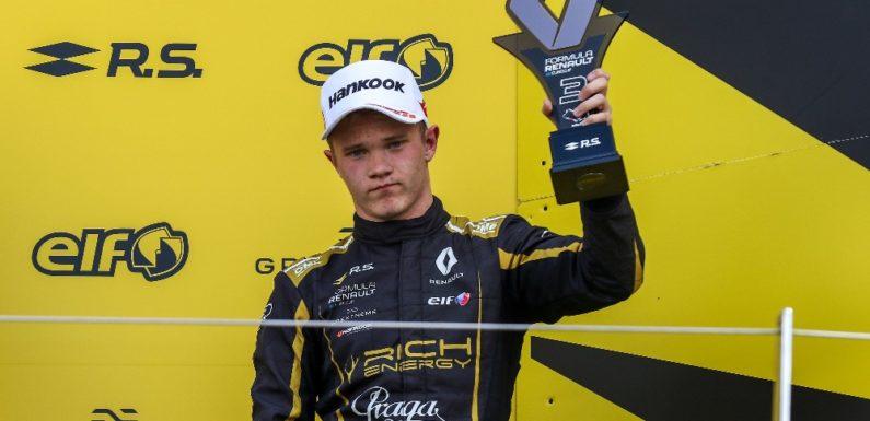 Ptáček junior na Silverstone zaválel, vybojoval své první pódium