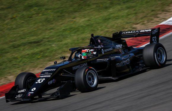 Formule Renault Eurocup: Ptáček měl pódium na dosah