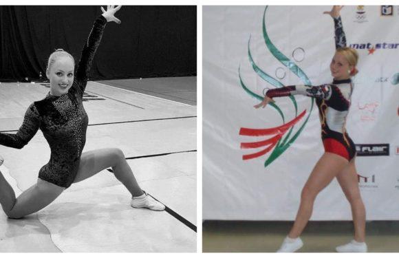 Krásné sexy gymnastky a navíc dvojčata! To se jen tak nevidí