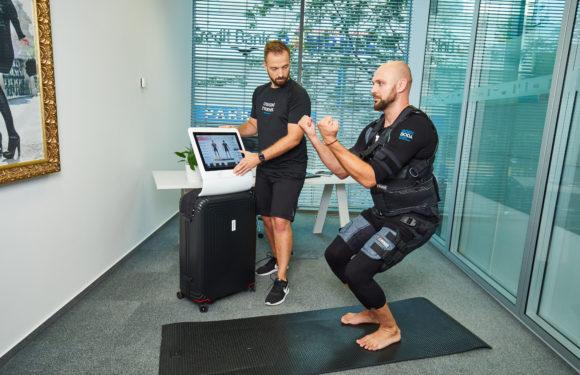 BodyBody nově nabízí EMS tréninky v pohodlí vaší kanceláře