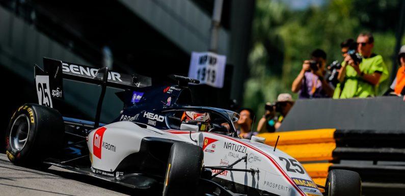 Juri Vips vítězem kvalifikačního sprintu F3 v Macau, Ilott pátý