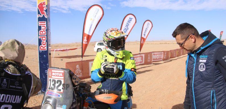 Skvělá výdrž a výbava: To je Michek na Dakaru i jeho nový miláček