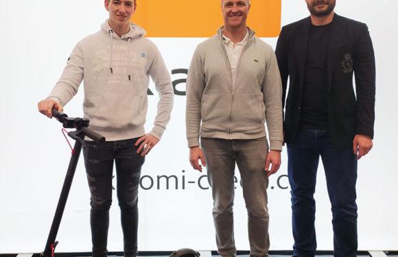 Ralf Schumacher v Praze: Stal se ambasadorem značky Xiaomi