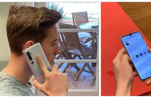 David Schumacher vyměnil iPhone: Teď už jenom Xiaomi Mi Note 10 Pro!