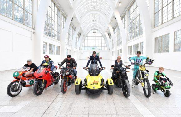 Jedinečné stroje na motocyklové výstavě Motosalon