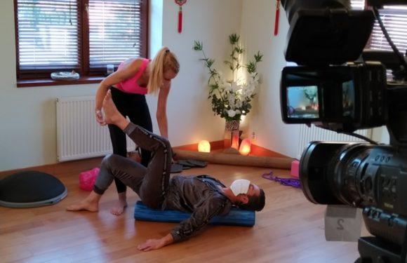 Sam Dolce si zacvičil před kamerou: Podívat se můžete v pátek na SPORT 5