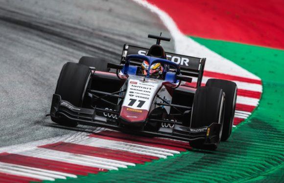 První závod F2 v Rakousku: Charouzův Delétraz bere body za 7. místo